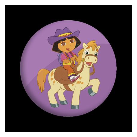 Dora a caballo