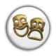 Máscaras Doradas B/W