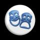 Máscaras Azules B/W